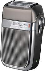 Remington HF9000 Folienrasierer Heritage im Retro-Design, Dreifachschneidesystem, zwei LiftLogic-Folien, Hybrid-Intercept-Trimmer, 3-stufige LED-Ladeanzeige, grau