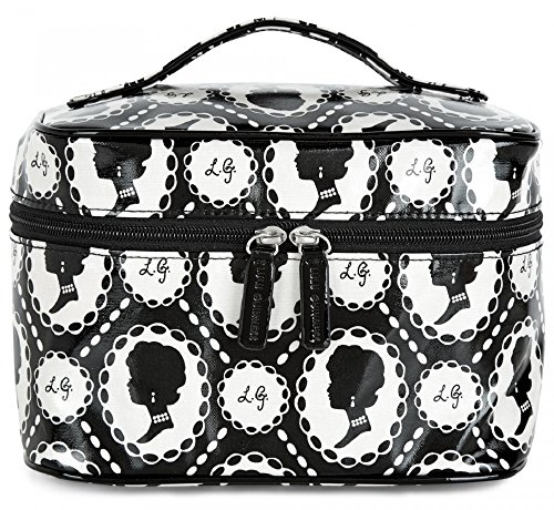 lulu-guinness-cameo-print-laminate-vanity-case-beauty-case-da-viaggio-uomo-nero-black-and-stone