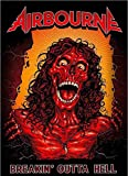 Airbourne Poster Breakin Outta Hell Band Logo Official Textile 70cm x 106cm One Size