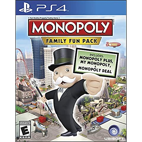 Ubisoft Monopoly Family Fun Pack, PS4 - Juego (PS4, PlayStation 4, Familia, E (para todos))