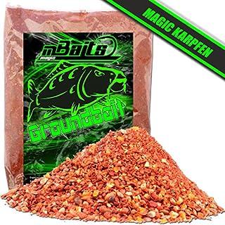 Angel-Berger Groundbait Grundfutter Angelfutter verschiedene Sorten (Magic Karpfen 3Kg)