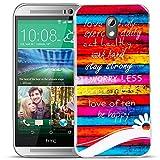 HTC Desire 626 Cover Muster Case aus TPU Silikon