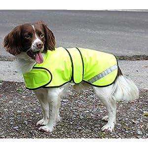 Cosipet-Safety-Hi-Vis-Waterproof-Yellow-Dog-Coat