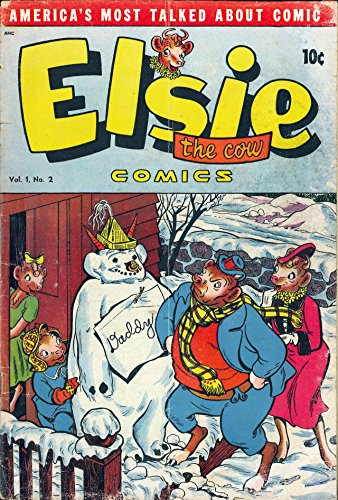 Elsie the Cow Comics v1 #2 (English Edition) eBook: DS Publishing ...