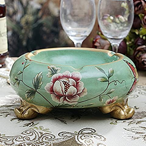 MEILING Americanos de moda pastoral creativa cenicero de cerámica de la decoración del Hogar regalo de Inauguración de la sala Dormitorio