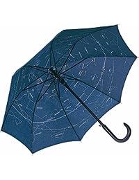 Fare - Parapluie standard automatique canne bois - carte du ciel - étoiles - 105 cm - 3330A