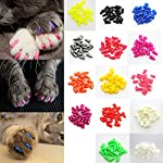 Pet Dog Cats Kitten Colorful Soft Paw Claws Control Nail Caps Cover(20Pcs/Pack) 4
