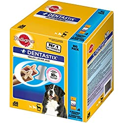 Pedigree DentaStix, Hundeleckerli für große Hunde 1er Pack (1 x 56 Stück)