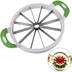 kairuigeli Watermelon Slicer, Large Stainless Steel Fruit Cutter for Kitchen, Suitable for Melons, Watermelon, Pineapple, and More