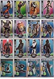 Topps Rebel Attax Serie 1 - alle 16 Star Wars Rainbow-Foil Karten als Set - Deutsche Ausgabe