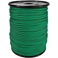 Corde Cordage PP 1mm 100m Vert (0117) Tressé Polypropylène