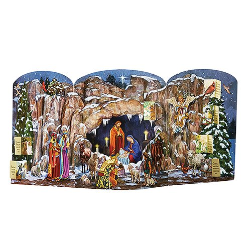 AT001 Religiöse & katholische Geschenke, O Holy Night Adventskalender