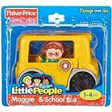 Fisher-Price Little People C4310 gelber Schulbus Bus mit Figur Neu OVP