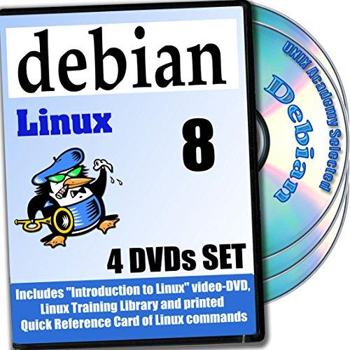 Debian 9 Linux 4-Disk DVD komplettes Installations- and Referenz- Set Installations-dvd