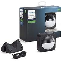 Philips Hue Bewegungssensor für den Aussenbereich, integrierter Tageslichtsensor, schwarz