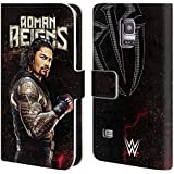Official WWE Roman Reigns Superstars Leather Book Wallet Case Cover For Samsung Galaxy S5 mini