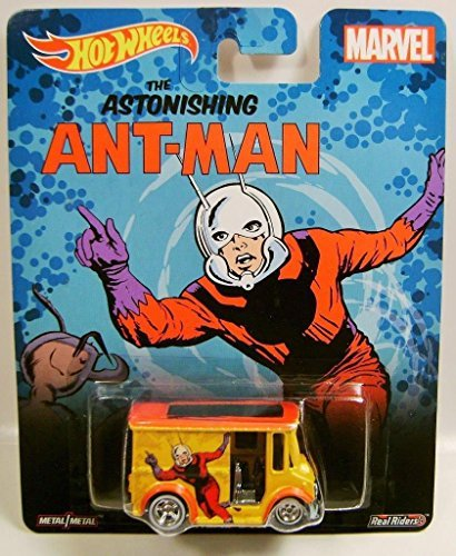 BREAD BOX THE ASTONISHING ANT-MAN MARVEL REAL RIDERS HOT WHEELS HW DIECAST 2015 by Hot Wheels