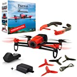 Parrot Bebop - Red 14MP Camera Drone