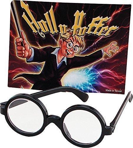 Weihnachten Party Accessoire Nerd Geek Wally Oder Harry Potter Style Zauberer Junge Brillen (Geeks Und Nerds Fancy Dress)