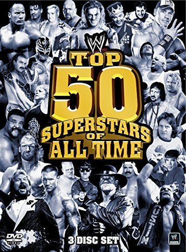 WWE: Top 50 Superstars of All Time by Stone Cold Steve Austin (Stone Cold Dvd)