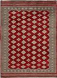 CarpetVista Pakistan Buchara 2ply Teppich 198x270 Orientalischer Teppich