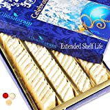 #5: Ghasitaram Gifts Bhaidooj Gifts Sugarfree Sweets - Pure Kaju Katlis Box 200 GMS