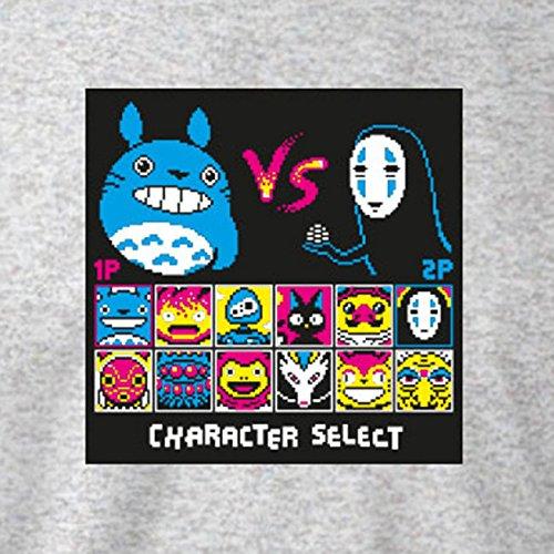 TEXLAB - Ghibli Fighters - Herren T-Shirt Weiß