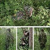 Zicac 3D Ghillie Tarnanzug Dschungel Ghillie Suit Woodland Camouflage Anzug Kleidung Für Jagd Verdeckt Festschmuck für Zicac 3D Ghillie Tarnanzug Dschungel Ghillie Suit Woodland Camouflage Anzug Kleidung Für Jagd Verdeckt Festschmuck
