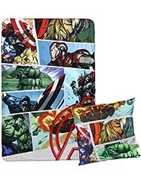 Cerdá Avengers, Calentadores para Niños (Gris 13), One Size (Tamaño del Fabricante:Única)