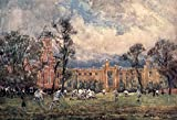Rugby School Poster Print by F. Whitehead (18 x 24)