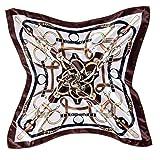 Fête des Mères La soie sentiment plus grand place autour du cou echarpe PAISLEY de décoration chale 50*50cm