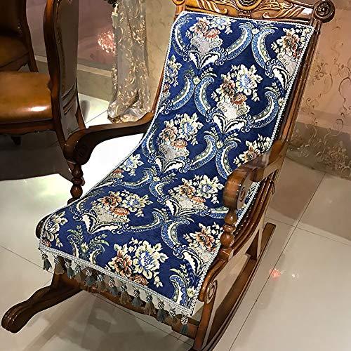 KTOL Vintage Gartenstuhlauflage Sitzkissen, Terrasse Stuhlauflagen Hochlehner-Auflage Deckchair...