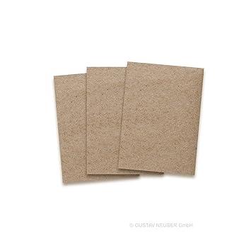 Kraftpapier Karten In Braun | 50 Stück | Blanko Einladungs Karten Zum  Selbstgestalten U0026 Basteln | Bedruckbare Post Karten In DIN A6 Format |  Exklusive ...