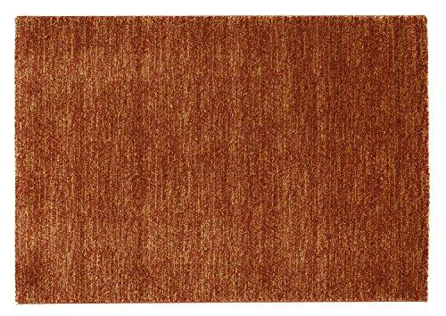 COSINESS LEAK moderner Designer Teppich in kupfer, Größe: 140x200 cm -