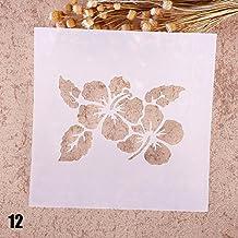 Teabelle - Plantilla para Pintar aerógrafos, Manualidades, álbum de Recortes, Decoración