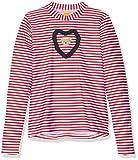 Steiff Baby-Mädchen Schwimmshirt Sonnenschutzshirt 1/2 Arm 6717503 Rot (Tango Red 2016), 4 Jahre (Herstellergröße: 104)
