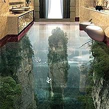 Wapel Tapete Tragen Dicker Pvc Wand Aufkleber Welt Fairyland Peak Cliff  Wohnzimmer Badezimmer 3D Bodenfliesen Malerei