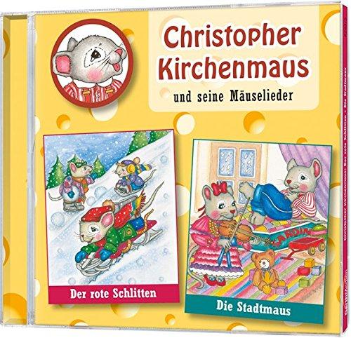 Preisvergleich Produktbild Christopher Kirchenmaus, Folge 5: Der rote Schlitten / Die Stadtmaus
