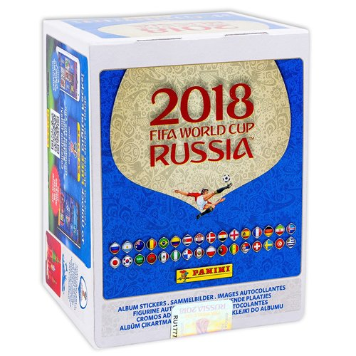 Wm Album Fifa Sticker (Panini 89295, 2018 Fifa World Cup Russia Sticker)
