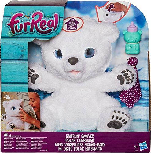 Hasbro FurReal Friends B9073EU4 - Mein verspieltes Eisbär Tot, Elektronisches Haustier