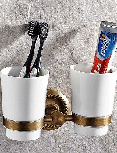 Accessori da bagno qmm,Portaspazzolino Antiquariato - Montaggio a