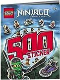 LEGO® NINJAGO™ Das Riesen Rätsel-Stickerbuch mit 500 Stickern