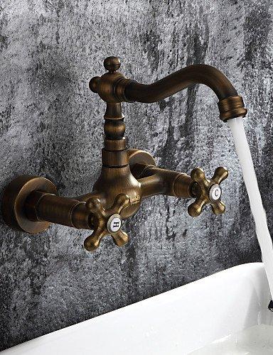 antico ispirato lavandino rubinetto del bagno -