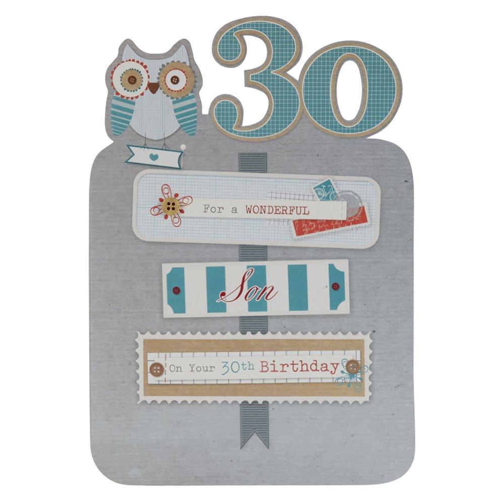 Hallmark 30th Birthday Card For Son With Love Always Medium – Birthday Card 30th
