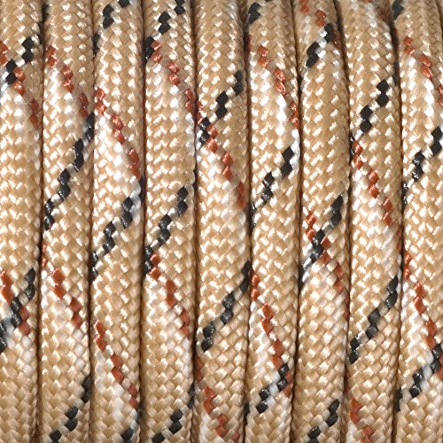Paracord 4 mm x 50 m de Couleur Beige