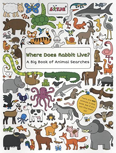 Where Does Rabbit Live?: A Big Book of Animal Searches