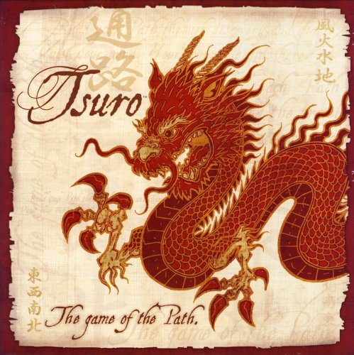 Tsuro The Game of The Path _ Juego de Mesa (en inglés)