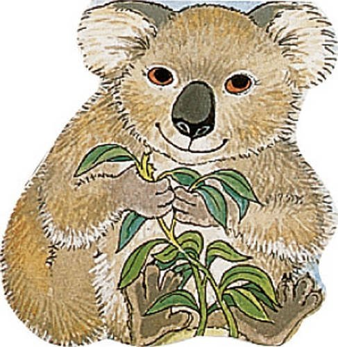 Pocket Koala (Pocket Pals Board Books) (Pocket Pals (Safari Ltd)) by Michael Twinn (1996-09-01) (Koala Pocket)