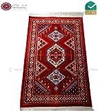 Hohe Qualität Madina ulfatowna Pray Matte Teppich Muslim Gebet keine Mihrab 110x 70rot