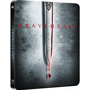 Steelbook Boitier Métal Blu ray + DVD Braveheart Edition Collector limitée (import) Piste audio V.F